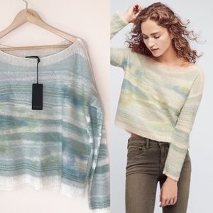 Anthropologie Troubadour Frosted Horizon Sweater